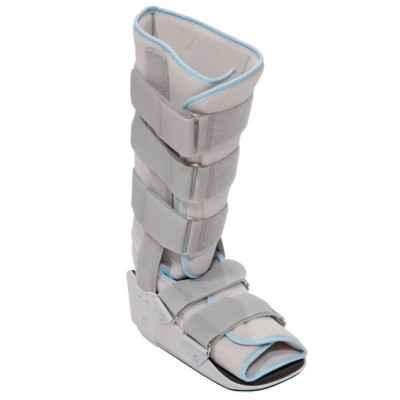 Νάρθηκας ποδοκνημικής – μπότα σταθερή γκρι ψηλή | Ύψος 43 cm