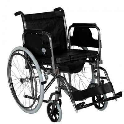 Αναπηρικό αμαξίδιο με δοχείο WC Mobiak | Πλάτος καθίσματος 46cm