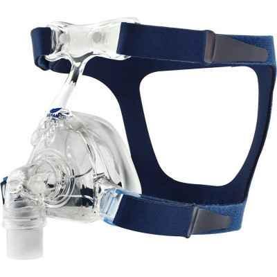 Ρινική μάσκα σιλικόνης Sefam Breeze για CPAP - BiPAP με κεφαλοδέτη