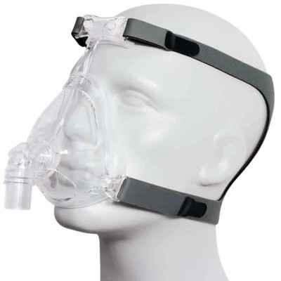 Μάσκα στοματορινική CPAP - BiPAP Sefam Breeze+ για CPAP - BiPAP με κορυφαία εφαρμογή χωρίς διαρροές