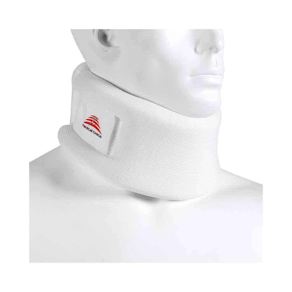 Αυχενικό κολάρο μαλακό λευκό| 'Υψος 6 cm