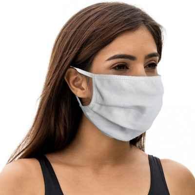 Υφασμάτινη μάσκα ενηλίκων Fashy 5803 Λευκή