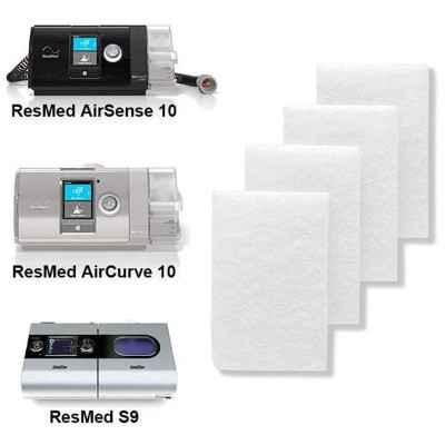 Κατάλληλα για συσκευές CPAP ResMed S9, AirSense 10 Autoset, AirSense 10 Elite καθώς και για BiPAP ResMed AirCurxe 10
