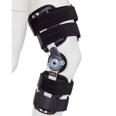 Νάρθηκας μηροκνημικός λειτουργικός με γωνιόμετρο Medical Brace Premium Short. Χορηγείται από τον ΕΟΠΥΥ