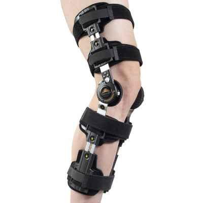 Τηλεσκοπικός νάρθηκας γόνατος λειτουργικός με γωνιόμετρο Medical Brace