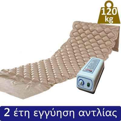 Σετ αερόστρωμα κατακλίσεων με αντλία Mobiakcare (120 kg)