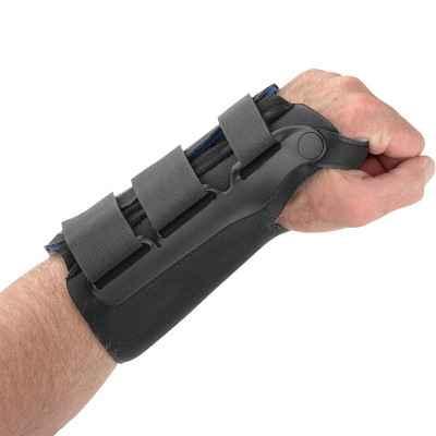 Εργονομικός ελαστικός νάρθηκας καρπού Exoform Wrist μήκους 20 cm