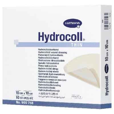 Επίθεματα κατακλίσεων Hartmnann Hydrocoll® Thin 15 x 15 cm συσκευασία 5 τεμ.