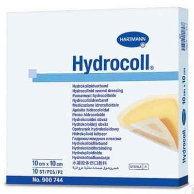 Αυτοκόλλητα υδροκολλοειδή επίθεματα κατακλίσεων Hartmann Hydrocoll® 10x10 cm σε συσκευασία των 10 τεμαχίων