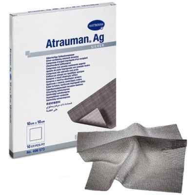 Επιθέματα αργύρου Atrauman Ag με ισχυρή αντιμικροβιακή δράση
