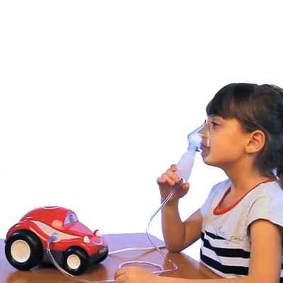 Νεφελεποιητής φαρμάκων για παιδιά Dr Frei Turbo Car