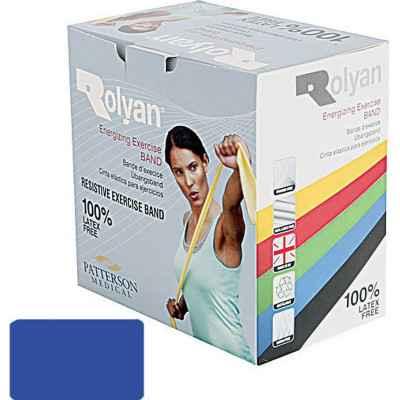 Ελαστικός ιμάντας άσκησης Rolyan σε μπλε χρώμα (σκληρός) για ασκήσεις με αυξημένη αντίσταση