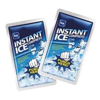Επίθεμα στιγμιαίας ψύξης - κρυοθεραπείας instant ice. Δεν χρειάζεται ψυγείο ή κατάψυξη.