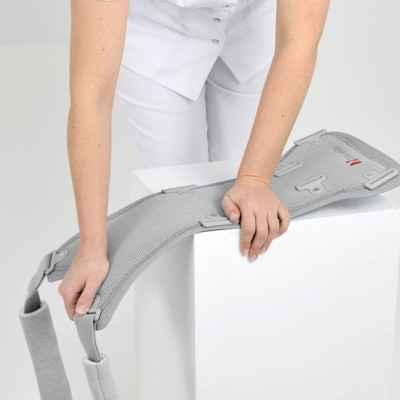 Ο νάρθηκας κορμού  ''Strada'' μπορεί να διαμορφωθεί εύκολα ανάλογα με το σωματότυπο του ασθενούς