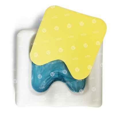 Το μαξιλάρι πρόληψης κατακλίσεων ''Pumel gel'' διαθέτει εσωτερικό gel pack που ισοκατανέμει τις πιέσεις