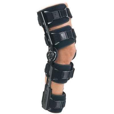 """Τηλεσκοπικός μηροκνημικός λειτουργικός νάρθηκας """"TROM Advance Cool Knee Brace"""""""