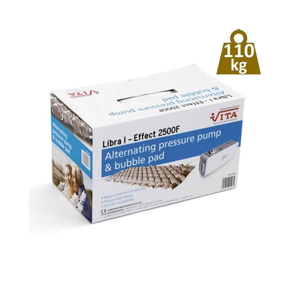 Αερόστρωμα κατακλίσεων με αντλία Vita Libra 1 - Effect 2500 F