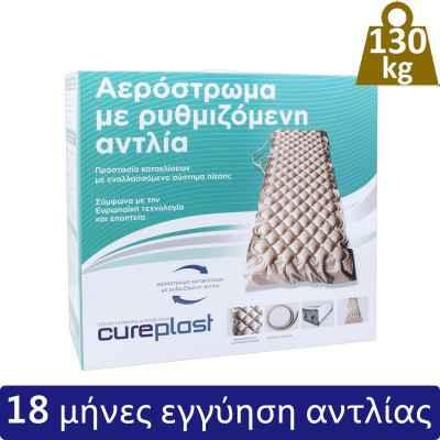 Αερόστρωμα κατακλίσεων με αντλία Cureplast (βάρος χρήστη έως 130 kg)