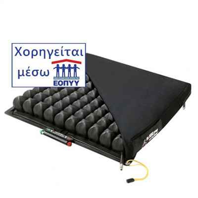 Μαξιλάρι κατακλίσεων Roho Quadtro Select Low Profile με αεροκυψέλες ύψους 5 cm. Χορηγείται από τον ΕΟΠΥΥ