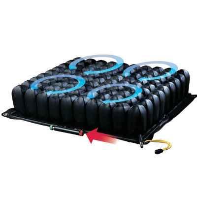 Η τεχνολογία Isoflo® δίνει τη δυνατότητα για κλείδωμα του αέρα ανά τεταρτημόριο για καλύτερη σταθεροποίηση της καθιστής θέσης