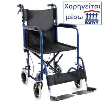 Αναπηρικό αμαξίδιο μεταφοράς Vita 09-2-036 (VT202). Χορηγείται μέσω ΕΟΠΥΥ