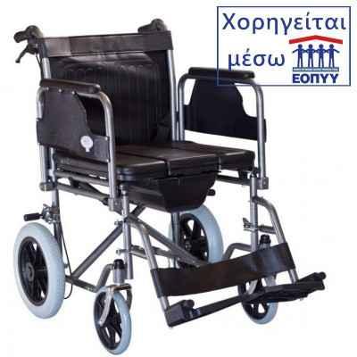 Αναπηρικό αμαξίδιο με δοχείο τουαλέτας Mobiak 0807985. Χορηγείται μέσω ΕΟΠΥΥ