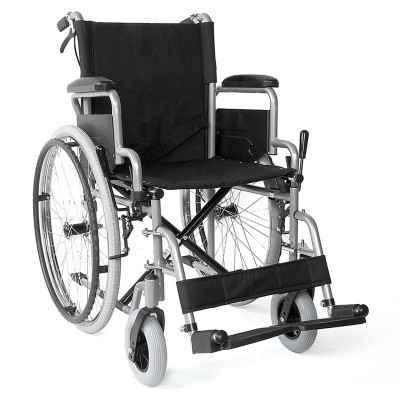 Αναπηρικό αμαξίδιο με αφαιρούμενα πλαϊνά / υποπόδια & φρένα 09-2-094