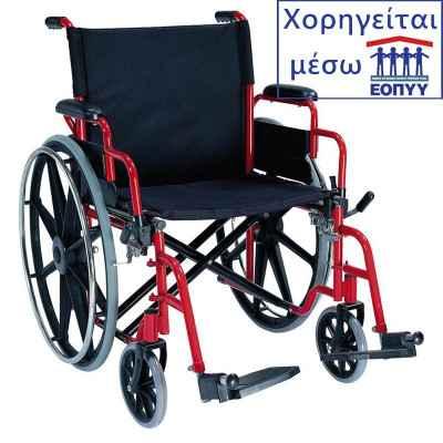Αναπηρικό αμαξίδιο βαρέως τύπου Mobiak 0808527 για υπέρβαρους έως 182 Kg. Χορηγείται μέσω ΕΟΠΥΥ
