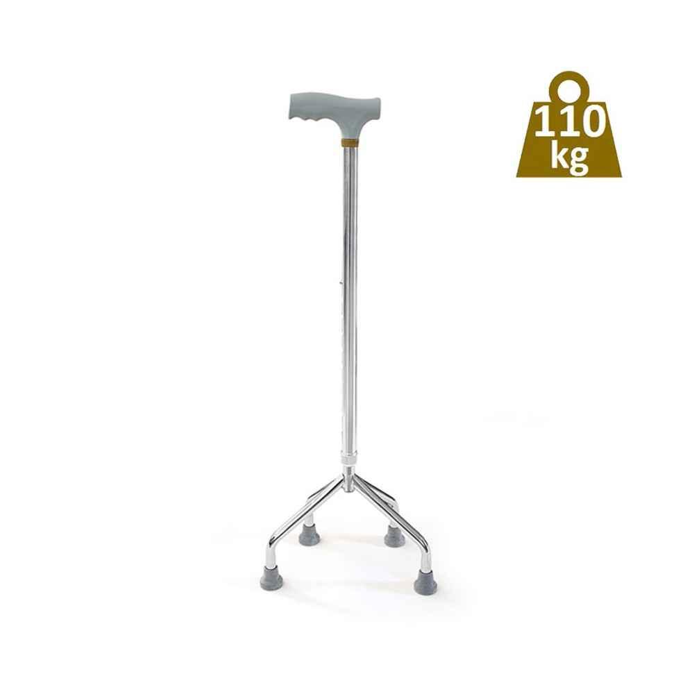 Τετράποδο μπαστούνι με μεγάλη βάση για μέγιστο βάρος χρήστη έως 110 kg