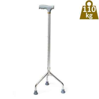 Μπαστούνι τρίποδο ρυθμιζόμενο ενισχυμένο για μέγιστο βάρος χρήστη έως 110 kg