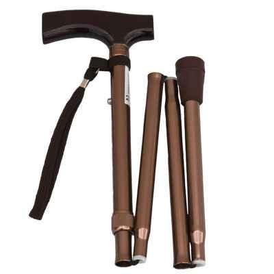 Μπαστούνι σπαστό (πτυσσόμενο) και ρυθμιζόμενο μπρονζέ