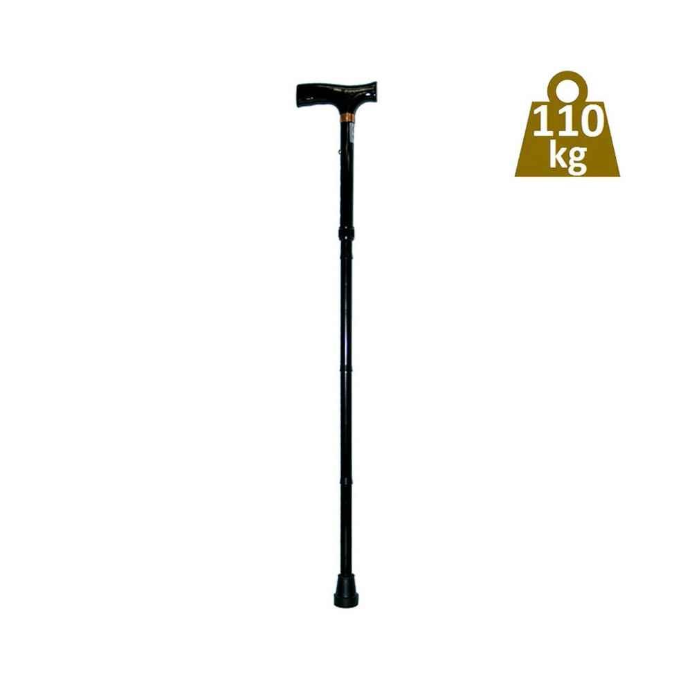 Σπαστό μπαστούνι ρυθμιζόμενου ύψους ενισχυμένο για μέγιστο βάρος χρήστη έως 110 kg