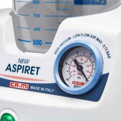 Η αναρρόφηση New Aspiret διαθέτει ρυθμιζόμενη αρνητική πίεση
