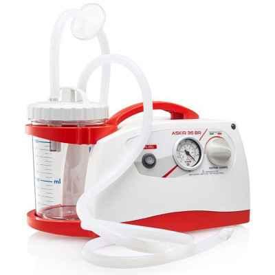 Αναρρόφηση μπαταρίας - ρεύματος CaMi AS 36BR (36Litres/min) κατάλληλη για χρήση σε νοσοκομείο ή ασθενοφόρο
