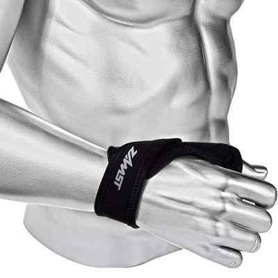 Περικάρπιο Zamst με στήριξη αντίχειρα ειδικά για αθλητές