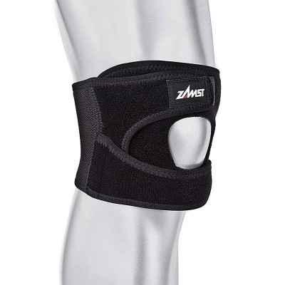 Η επιγονατίδα Zamst JK-1 παρέχει υποστήριξη μετρίου βαθμού σε αθλήματα με άλματα για πρόληψη ή αποκατάσταση από τενοντίτιδες
