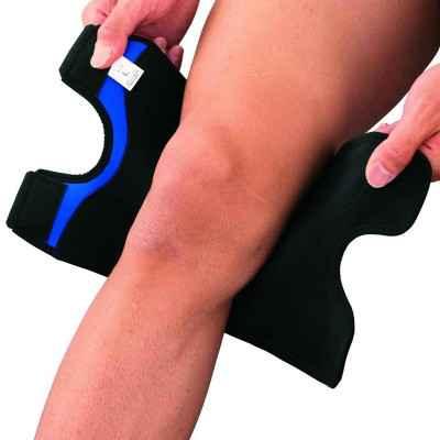 Η επιγονατίδα Zamst έιναι ειδικά σχεδιασμένη για εύκολη και σωστή τοποθέτηση χωρίς καν να χρειαστεί να βγάλετε το παπούτσι σας