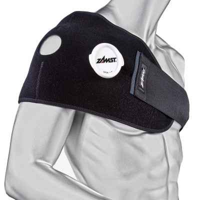 Το σετ κρυοθεραπείας Zamst IW-2 έχει ειδικό σχεδιασμό για εφαρμογή κρυοθεραπείας σε μεγάλες επιφάνειες όπως οι ώμοι και η πλάτη