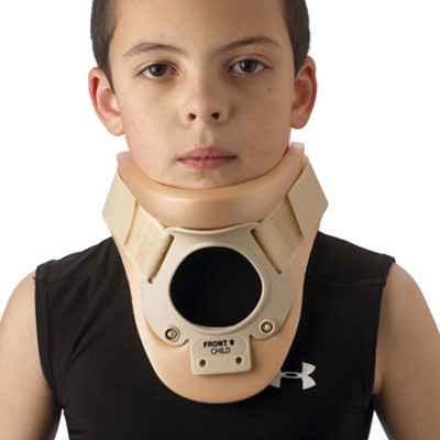 Το αυχενικό κολλάρο Philadelphia διατίθεται και σε παιδικό μέγεθος για παιδιά από 4-9 ετών με περίμετρο αυχένος από 20 έως 28 cm
