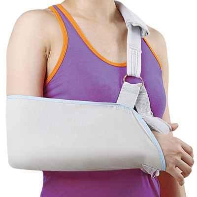 Ο φάκελος στήριξης και ανάρτησης ώμου - χεριού της Wellcare διαθέτει και υποδοχή αντίχειρα για μεγαλύτερη άνεση