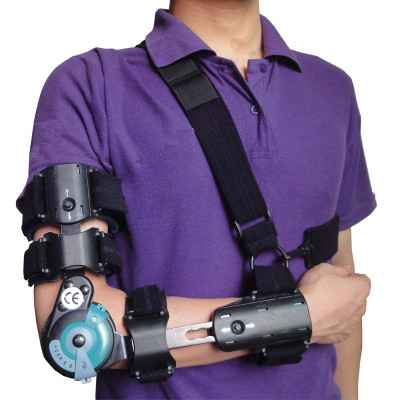 Λειτουργικός νάρθηκας αγκώνα ROM Telescopic για δεξί χέρι