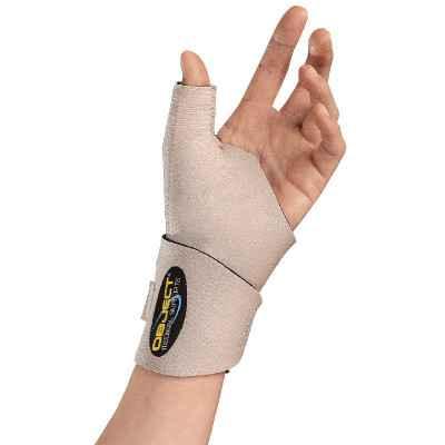 Περικάρπιο με εύκαμπτη στήριξη αντίχειρα για απλές παθήσεις καρπού ή αντίχειρα