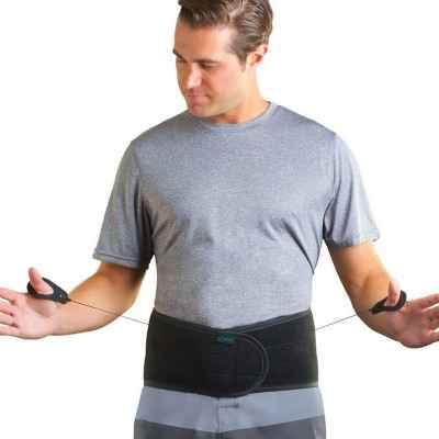 """Η ζώνη οσφύος """"Lumbar Support"""" διαθέτει ειδικό μηχανισμό ξεχωριστής συμπίεσης για το άνω ή το κάτω τμήμα της οσφυϊκής μοίρας"""