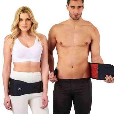 Η ζώνη Firtech μπορεί να φορεθεί στη μέση, στα ισχία ή στην πλάτη