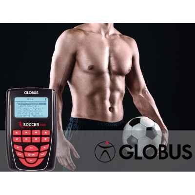 Συσκευή ηλεκτροδιέγερσης Globus Soccer Pro με ειδικά προγράμματα για ποδοσφαιριστές