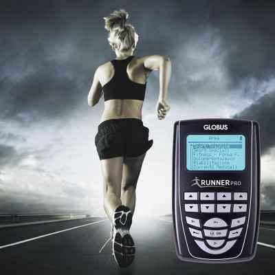 Ηλεκτροδιεγέρτης Globus Runner Pro με ειδικά προγράμματα για αθλούμενους που ασχολούνται με το τρέξιμο