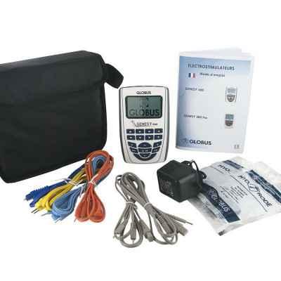 Βασικός εξοπλισμός φορητής ηλεκτροθεραπείας Globus Genesy 600