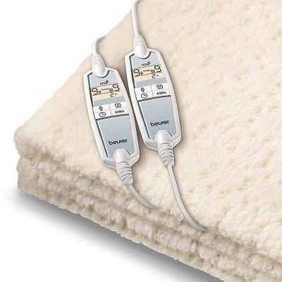 Η ηλεκτρική υποκουβέρτα διπλή Beurer UB 86 XXL διαθέτει 2 χειριστήρια για εξατομικευμένες ρυθμίσεις