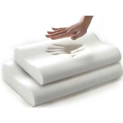 Το ανατομικό ορθοπεδικό μαξιλάρι ύπνου Restful Memory Foam παίρνει το σχήμα του σώματος και αποφορτίζει τον αυχένα