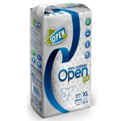Πάνες ακράτειας ενηλίκων Open Care Economy Pack 30 τεμαχίων για περιφέρεια γοφών 130 - 160 cm